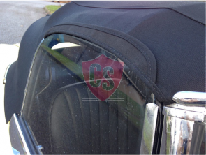 Jaguar E-Type S1 PVC cabriolet hood 1961-1968