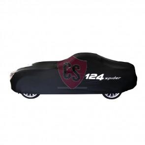 Genuine Fiat 124 Spider Indoor Car Cover - Black