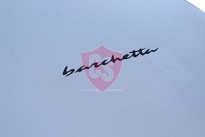 Fiat Barchetta Indoor Cover - Silvergrey -  Emblem