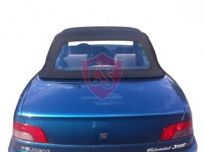 Peugeot 306 hood with PVC rear window 1994-2003