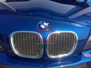 BMW Z3 Roadster Front Bumper Stainless Steel Mesh Grill (2 pieces)