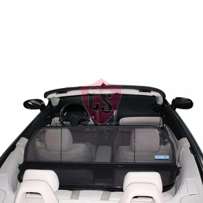 Lexus IS 250 Aluminium Wind Deflector - Black 2006-2013