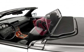 Mercedes-Benz SL-Class R129 Aluminium Wind Deflector - Black 1989-2001