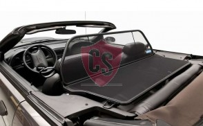 Ford Mustang 4 SN-95 Aluminium Wind Deflector - Black 1994-2004