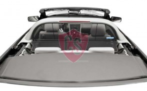 Ford Mustang 5 With Anti Rollbar Aluminium Wind Deflector - Black 2005-2014