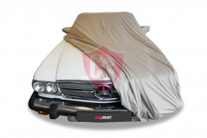 Mercedes-Benz R107 SL Outdoor Cover - Star Cover - Khaki - Mirror Pockets