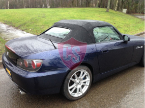 Honda S2000 mohair cabriolet hood - glass rear window 1999-2002