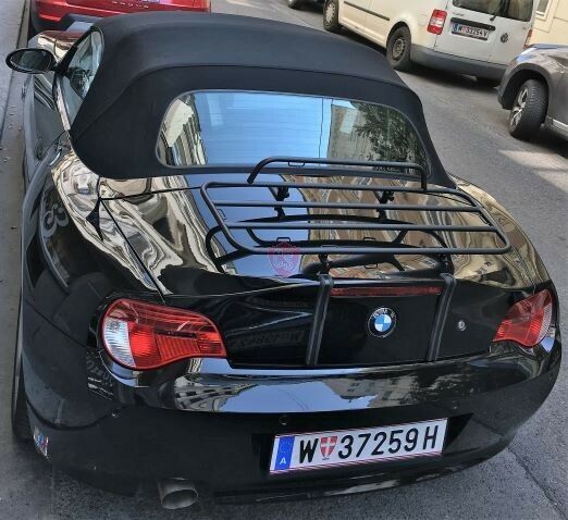 Bmw Z4 Convertible Black: BMW Z4 E85 Roadster Luggage Rack