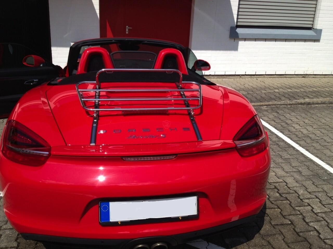 Porsche Boxster 981 Luggage Rack 2012 2016 Cabrio Supply