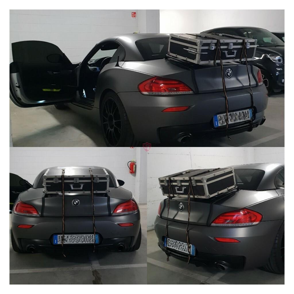 Bmw Z4 Black: BMW Z4 E89 Roadster Luggage Rack