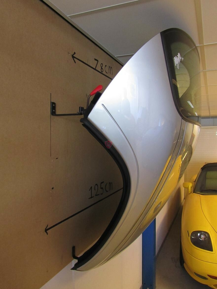 Porsche 986 Boxster Hardtop Wall Mounting Kit Cabrio Supply