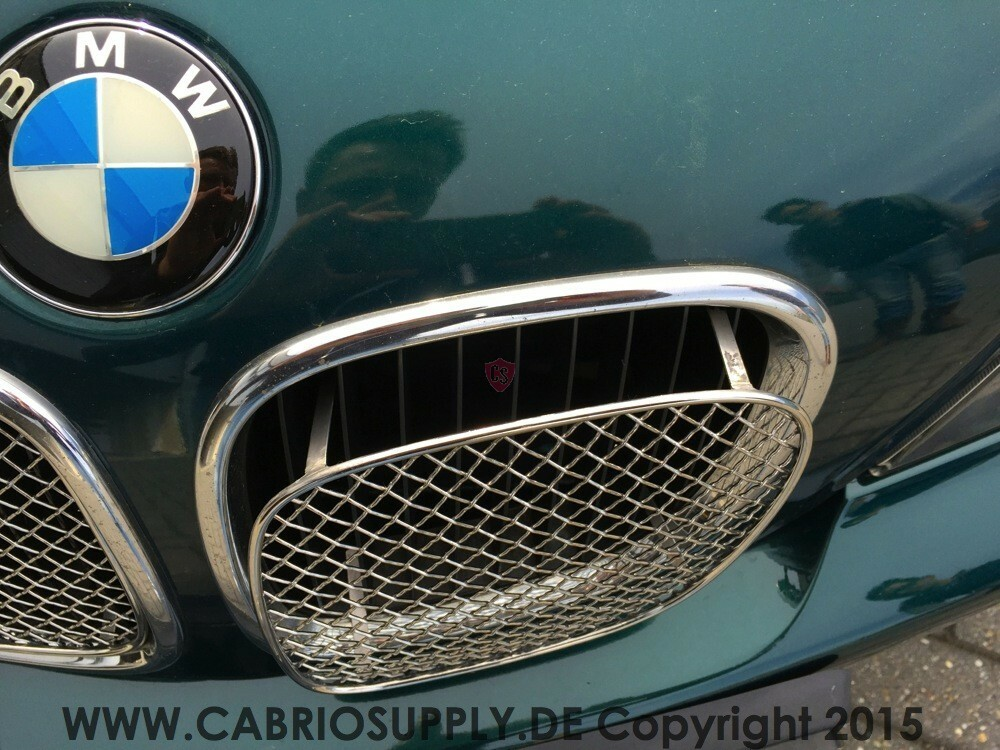 Bmw Z3 Roadster Front Bumper Stainless Steel Mesh Grill 2