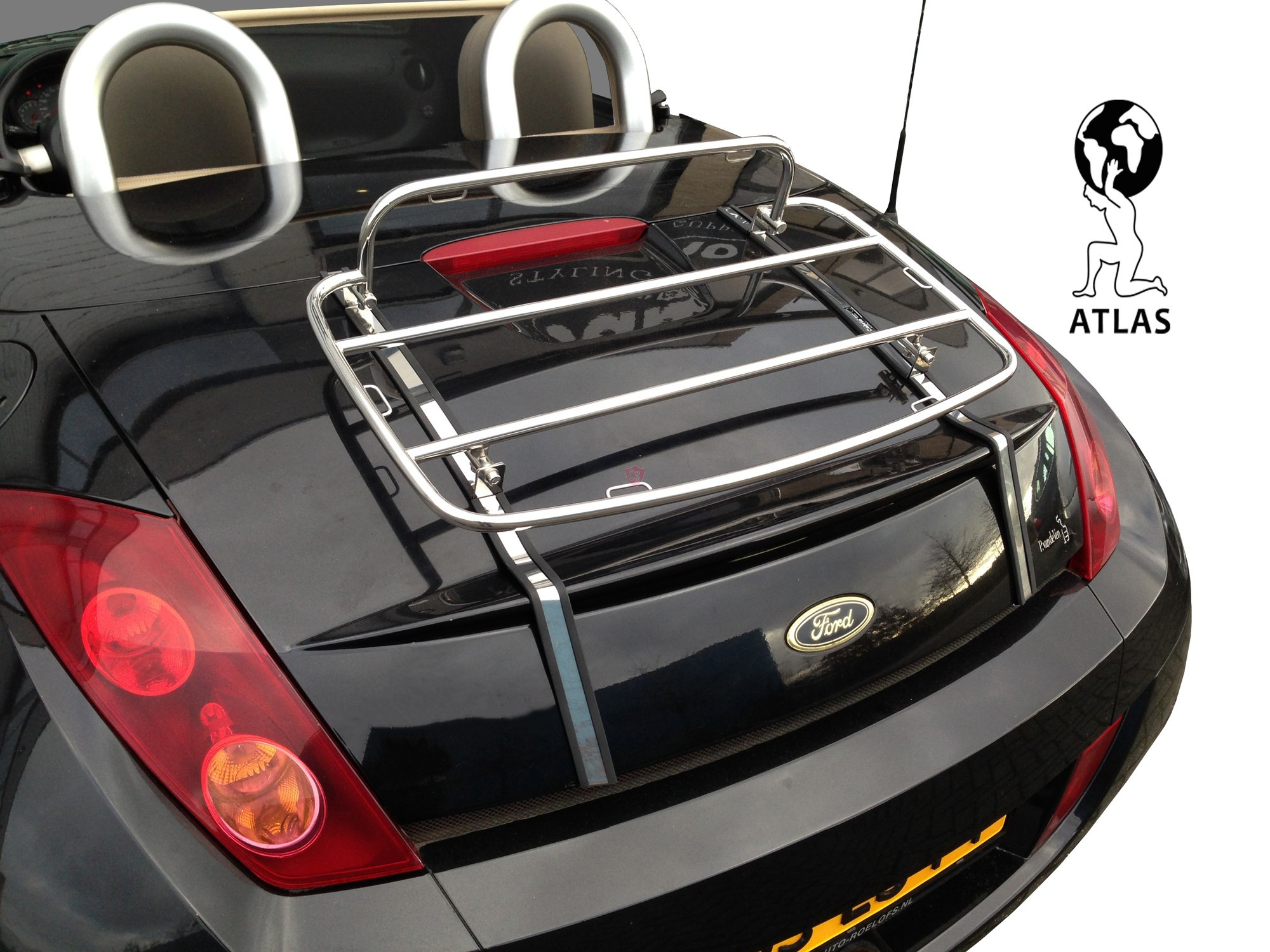 ford street ka luggage rack 2003 2005 cabrio supply. Black Bedroom Furniture Sets. Home Design Ideas