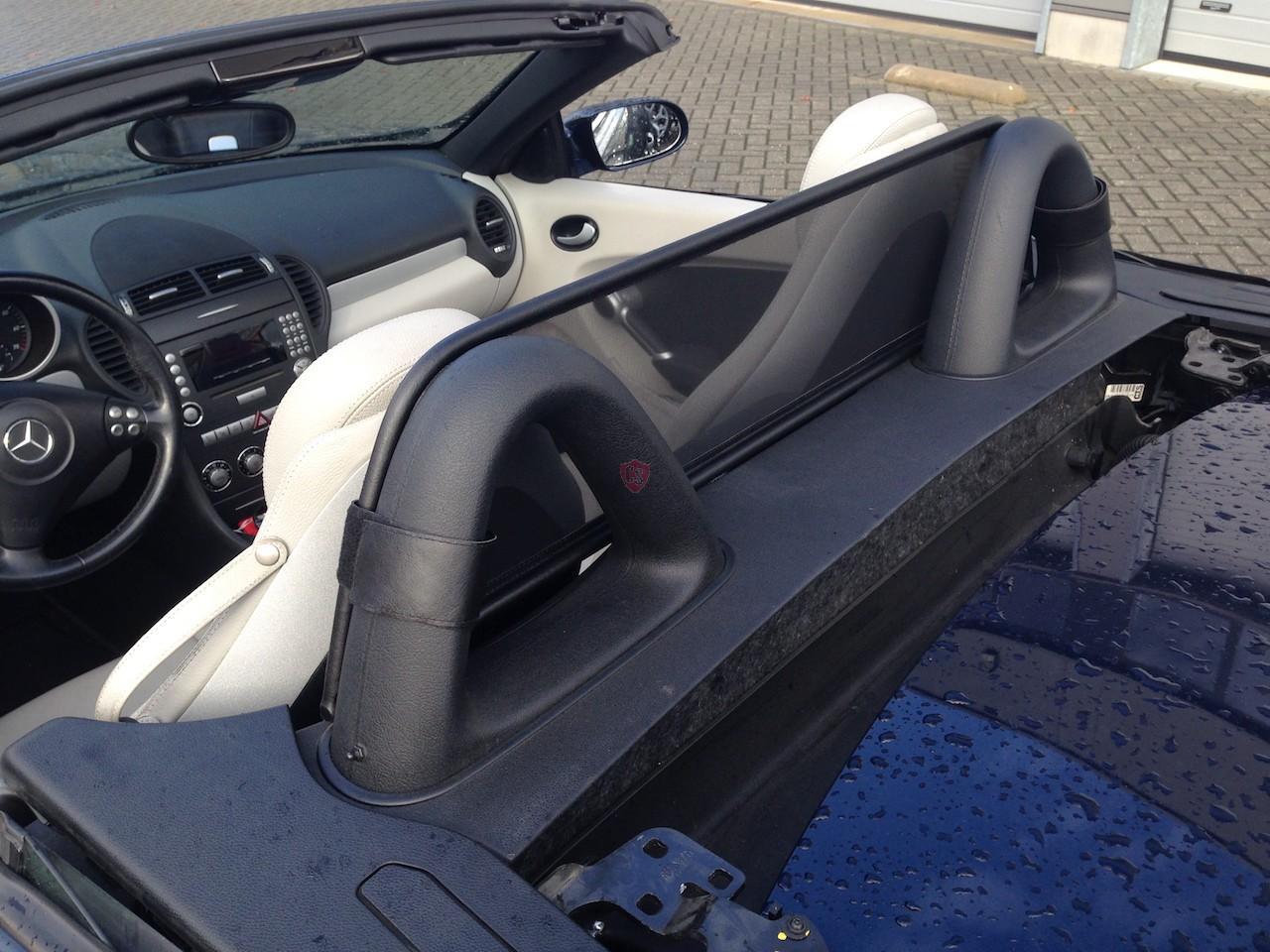 Mercedes Benz Slk R171 Wind Deflector Velcro Straps