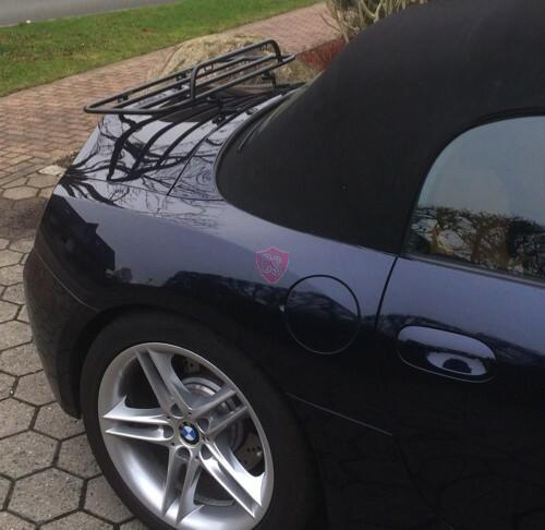 Bmw Z4 With Hardtop: BMW Z4 E85 Roadster Luggage Rack